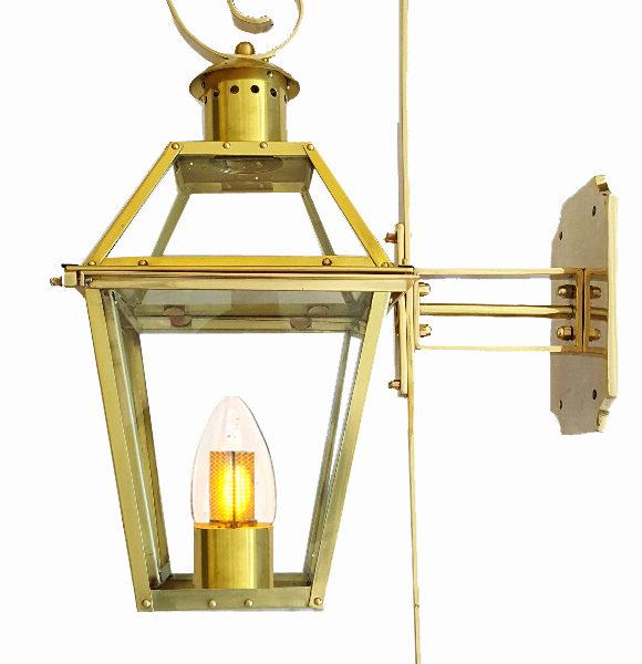 flame bulb new orleans gas lights. Black Bedroom Furniture Sets. Home Design Ideas