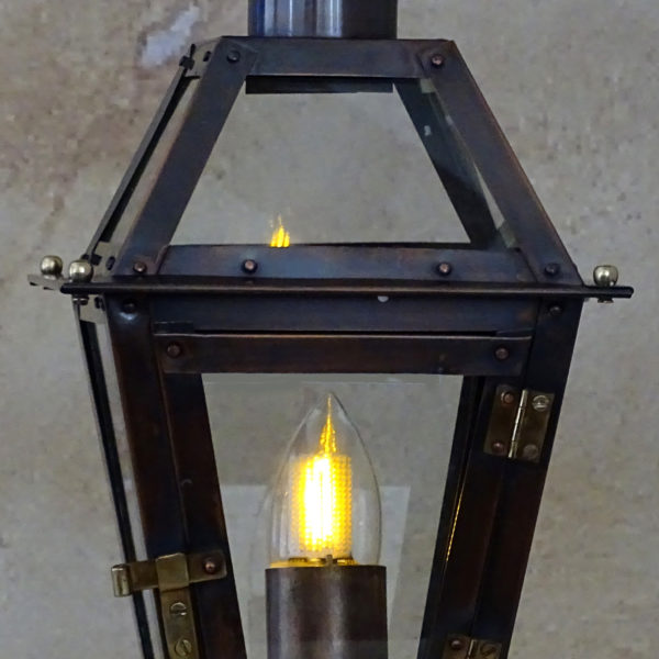flame bulb new orleans gas lights. Black Bedroom Furniture Sets. Home Design Ideas