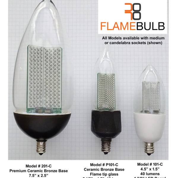 Flame Bulb New Orleans Gas Lights