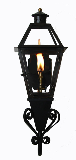 on stealth gooseneck with flo glo igniter new orleans gas lights. Black Bedroom Furniture Sets. Home Design Ideas