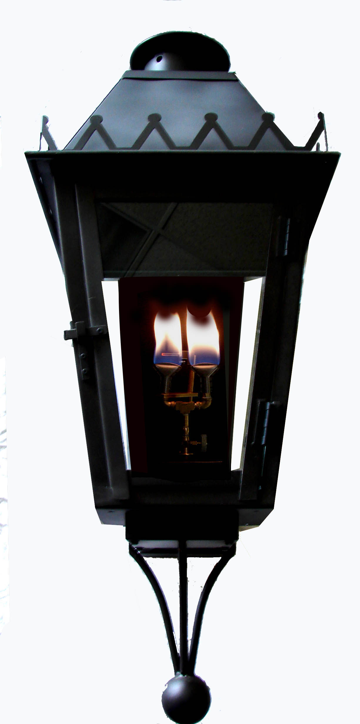 ironman imperial fixture new orleans gas lights. Black Bedroom Furniture Sets. Home Design Ideas