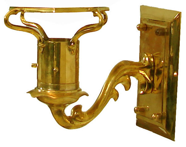 Windsor - Polished Brass (Wall Mount)