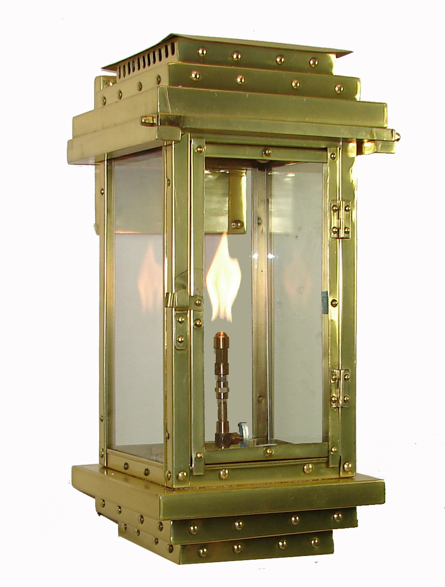 quarter lantern on premium s scroll new orleans gas lights. Black Bedroom Furniture Sets. Home Design Ideas