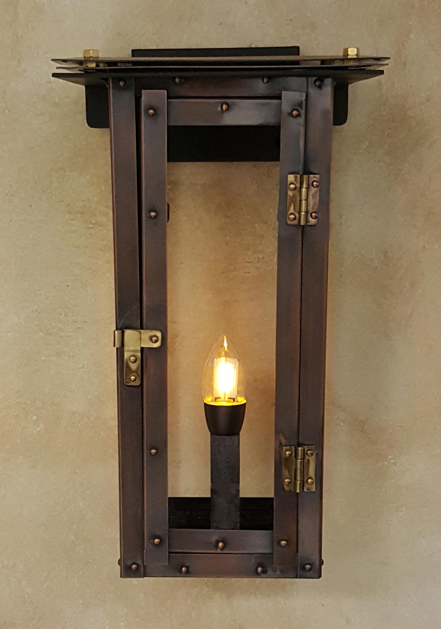 moderne new orleans gas lights. Black Bedroom Furniture Sets. Home Design Ideas