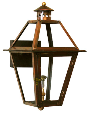 French Quarter Lantern Copper