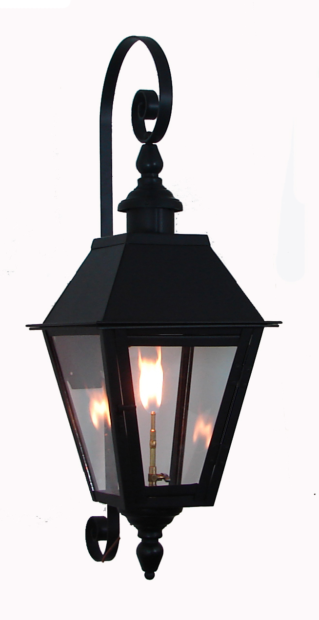 Ironman Pro Series All Steel Lantern French Quarter Style With London Top And Bottom Finials Premium
