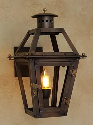 12 French Quarter Lantern With Candelabra Socket Bracket Bulb Not Included
