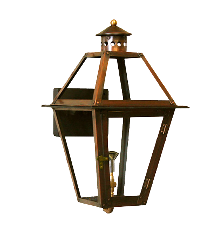 12 35 French Quarter Lantern Copper